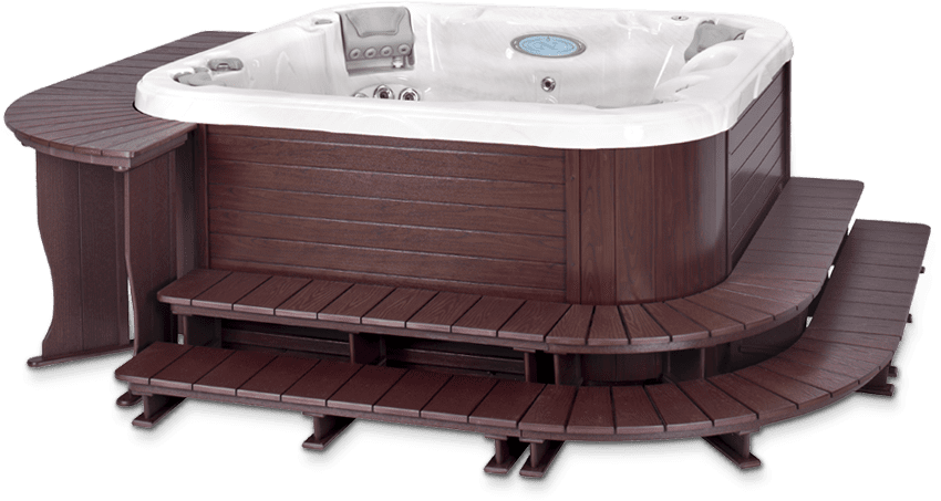 hot tub surrounds a b accessories rh aandbaccessories com hot tub side table ideas hot tub side table diy